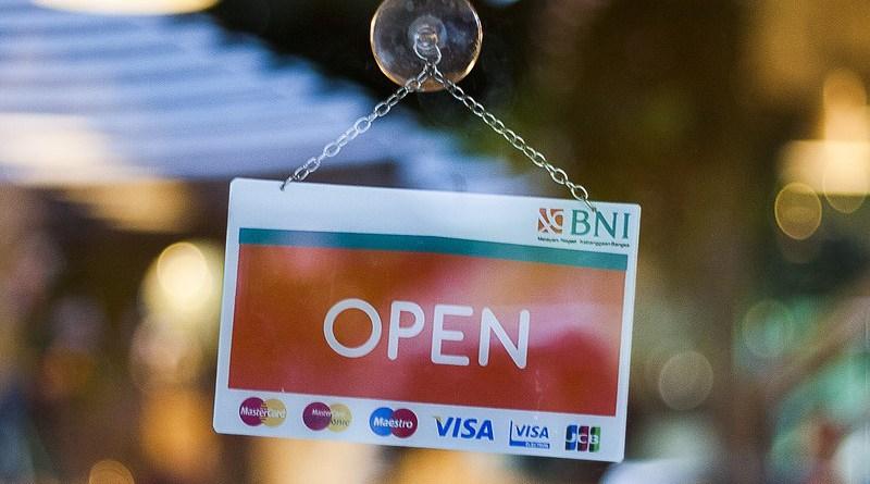 Sign Open Open Sign Business Store Door Window