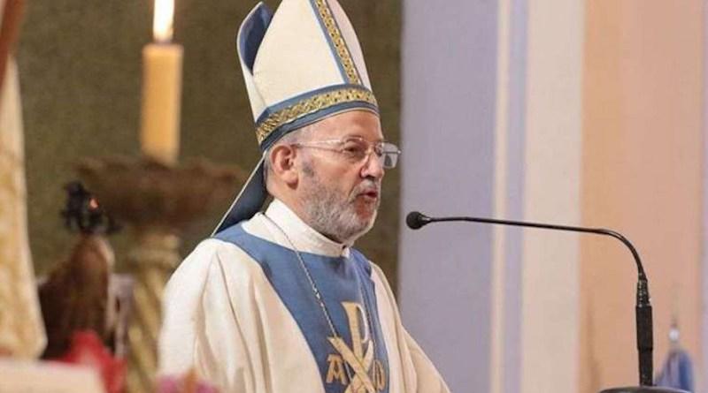 Bishop Eduardo María Taussig of San Rafael. Credit: Semanario diocesano De Buena Fe.