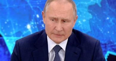 Russia's President Vladimir Putin. Photo Credit: Screenshot video Kremlin.ru
