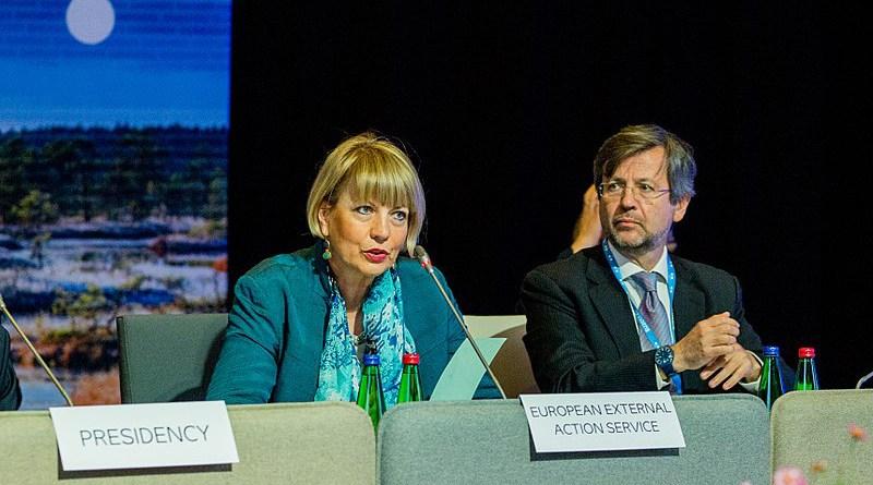 File photo of Helga Schmid, Secretary General, European External Action Service. Photo Credit: EU2017EE Estonian Presidency, Wikipedia Commons