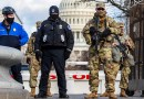 South Carolina Army National Guardsmen provide security support for the 59th presidential inauguration in Washington, Jan. 20, 2021. Photo Credit: Army Sgt. Brian Calhoun