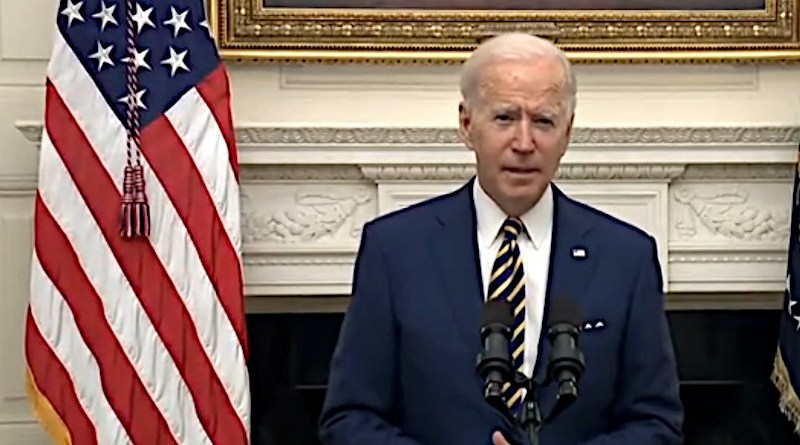 US President Joe Biden. Photo Credit: Screenshot White House video