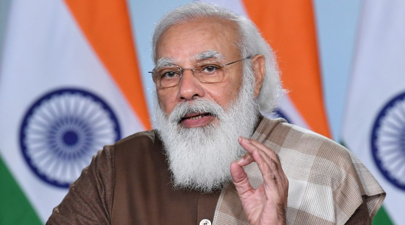 India's Prime Minister, Shri Narendra Modi. Photo Credit: PM India