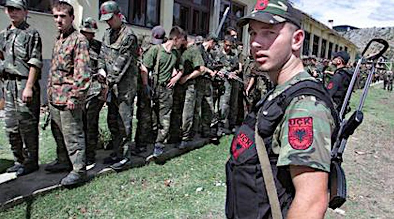 NLA militants in Macedonia. Photo Credit: Reuters, Wikipedia Commons