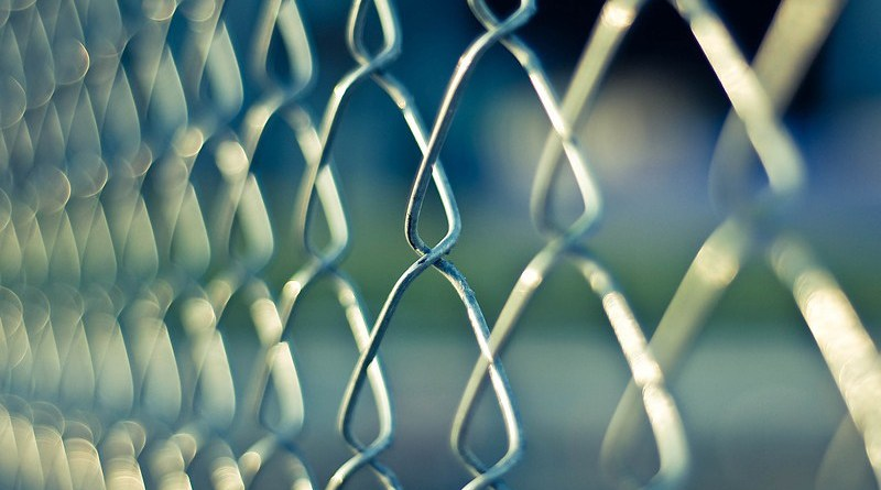 prison jail Chainlink Fence Metal Wire Protection Security
