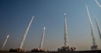 Iran's IRGC fires ballistic missiles in military drill. Photo Credit: Tasnim News Agency