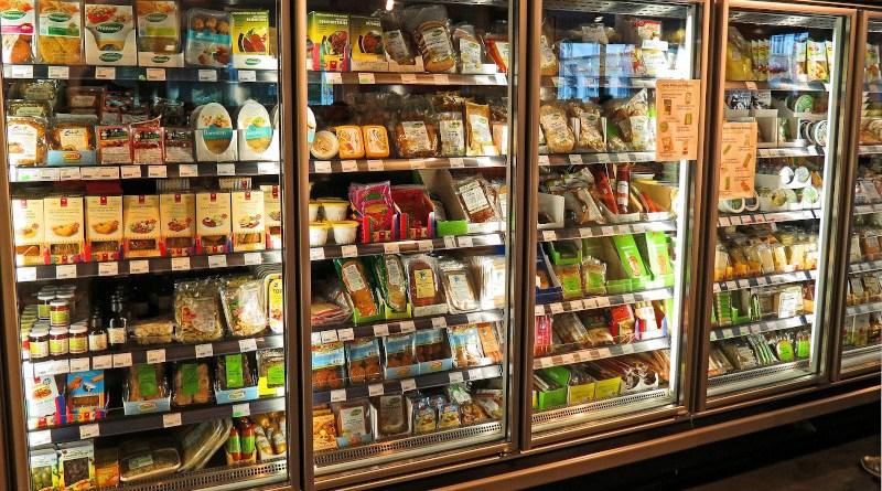 Food in supermarket refrigerators. Photo Credit: Kevin Phillips/Pixabay