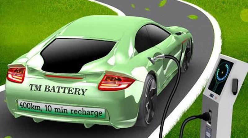 A thermally modulated battery for mass-market electric vehicles without range anxiety and with unsurpassed safety, low cost, and containing no cobalt, is being developed by a team of Penn State engineers. CREDIT Chao-Yang Wang's lab, Penn State