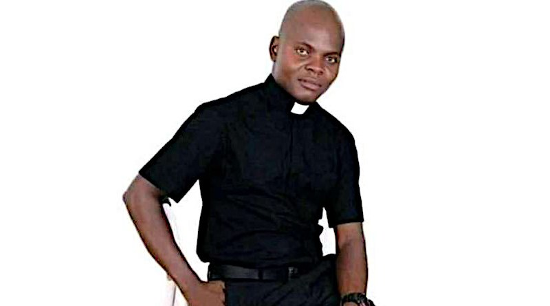 Fr. John Gbakaan, a priest of the diocese of Minna, Nigeria. Public domain.
