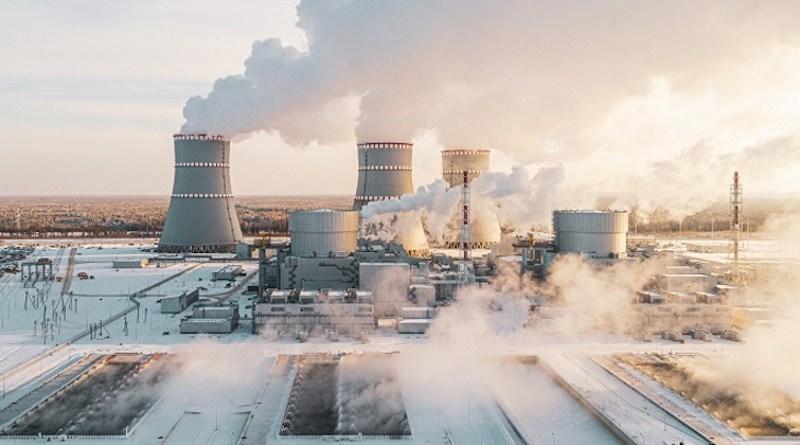 Leningrad II nuclear power plant (Image: Rosatom)
