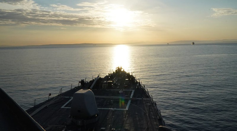 United States Navy destroyer USS Porter in the Black Sea. Photo Credit: US Navy Europe