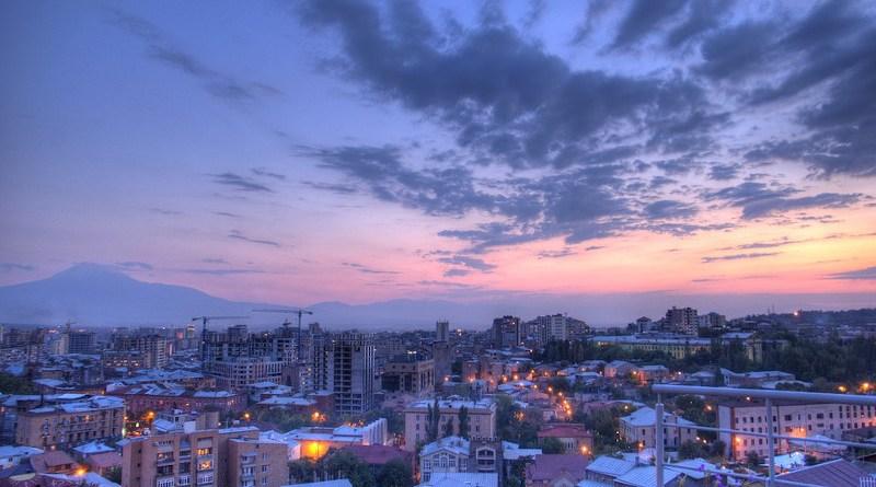 Yerevan Armenia City Town Buildings Architecture