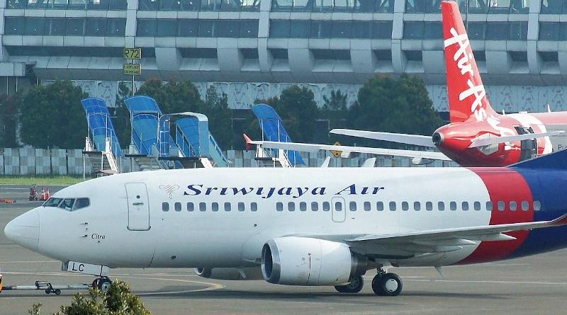File photo of Sriwijaya Air Flight 182 in 2017. Photo Credit: PK-REN, Wikipedia Commons.