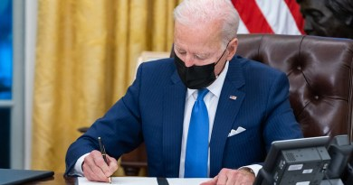 File photo of President Joe Biden signing an executive order. Photo Credit: Official White House Photo by Adam Schultz