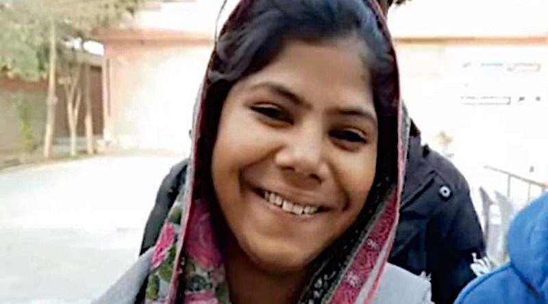 Farah Shaheen at New Convent School in Faisalabad on Feb. 16. (Photo: Lala Robin Daniel)