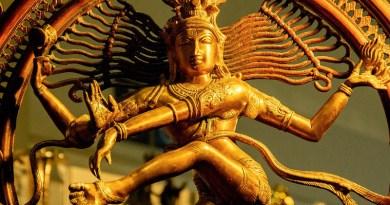 Hinduism Brahma Bronze Statue India