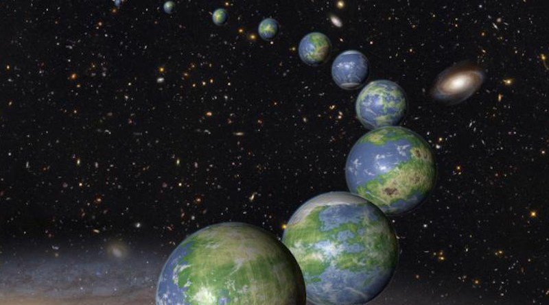 'All planets in the Milky Way may be formed by the same building blocks, meaning that planets with the same amount of water and carbon as Earth', says Professor Anders Johansen. CREDIT NASA, ESA and G. Bacon (STScI).