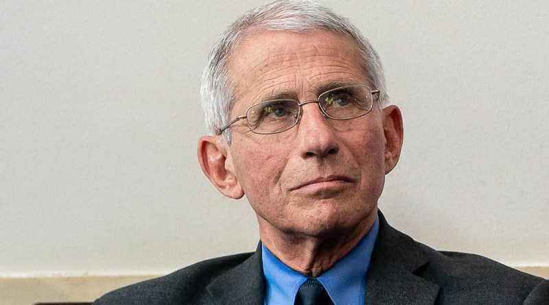 Dr. Anthony Fauci. Official White House photo by Tia Dufour/Wikimedia Commons