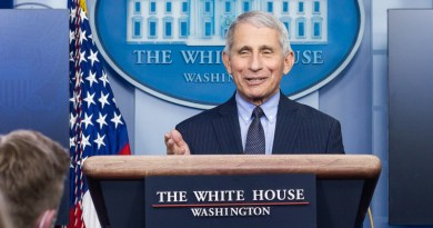 Chief Medical Advisor to the President Dr. Anthony Fauci. (Official White House Photo by Chandler West)