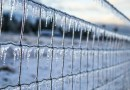 snow ice fence extreme weather