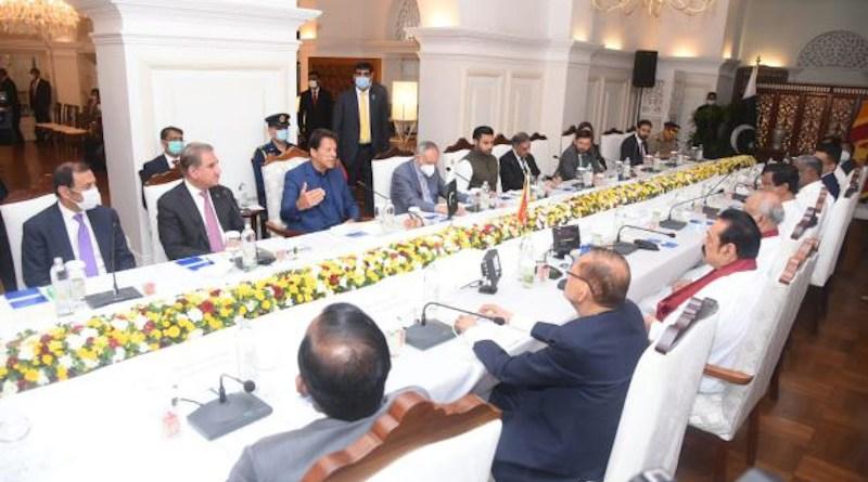 Sri Lanka-Pakistan talks. Photo Credit. Sri Prime Minister s Office