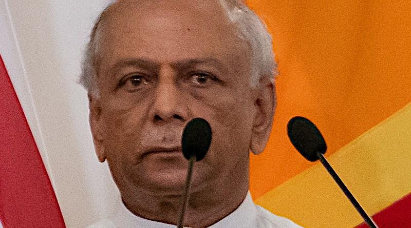 File photo of Sri Lanka's Foreign Minister Dinesh Gunwardena. Photo Credit: U.S. Department of State, Wikipedia Commons