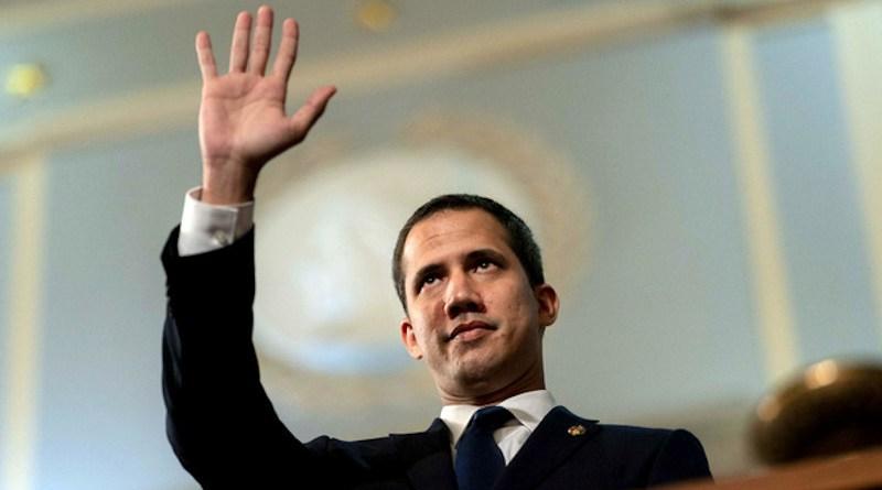 Venezuela's Juan Guaido. Photo Credit: D. Myles Cullen, Flickr.com/whitehouse45