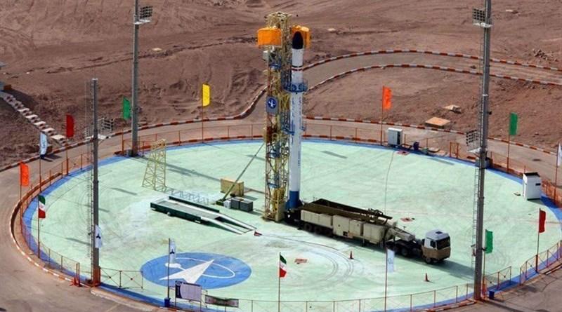 Iran's Zoljenah rocket. Photo Credit: Tasnim News Agency