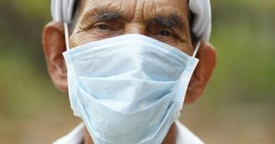 man mask covid-19 coronavirus