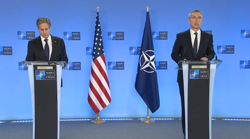 U.S. Secretary of State Antony Blinken and NATO Secretary General Jens Stoltenberg. Photo Credit: NATO