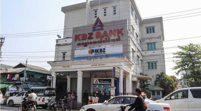 Bank in Myanmar. Photo Credit: DMG