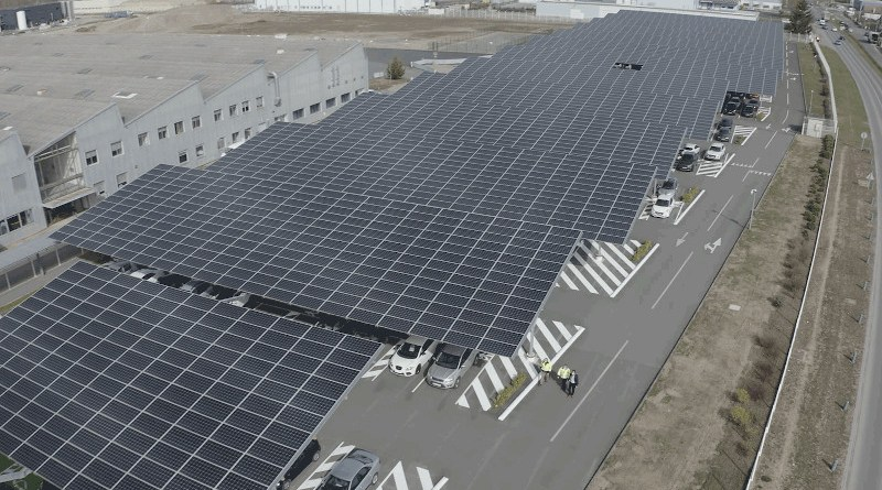 Solar panels. Photo Credit: Total