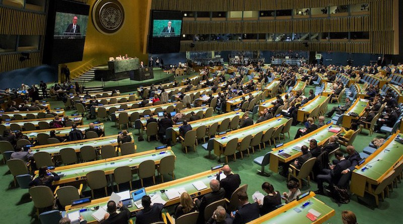 Opening session of the 2015 NPT Review Conference. Credit: UN photo/Loey Felipe