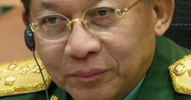 Myanmar's military junta leader, General Min Aung Hlaing. Photo Credit: Mil.ru