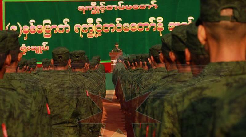 Arakan Army in Myanmar. Photo Credit: DMG