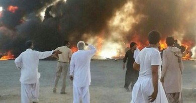 Protests in Sistan-Baluchestan, Iran. Photo Credit: Iran News Wire