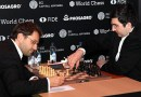 Levon Aronian vs Vladimir Kramnik at the Candidates Tournament 2018. Photo Credit: Vladimir Barskij, Wikipedia Commons