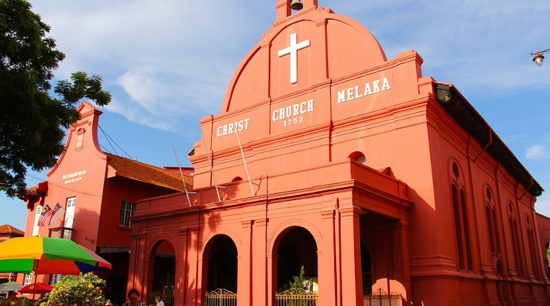 Christ Church Malacca is an 18th-century Anglican church in the city of Malacca City, Malaysia