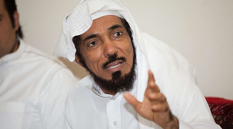 File photo of Saudi Sheikh Salman al-Awdah. Photo Credit: Emad Alhusayni, Wikipedia Commons