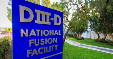 General Atomics operates the DIII-D National Fusion Facility on behalf of the DOE (Image: General Atomics)