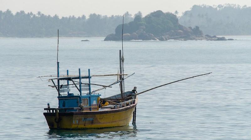 Fishing Boat Sri Lanka Sea Boat Ocean Wooden