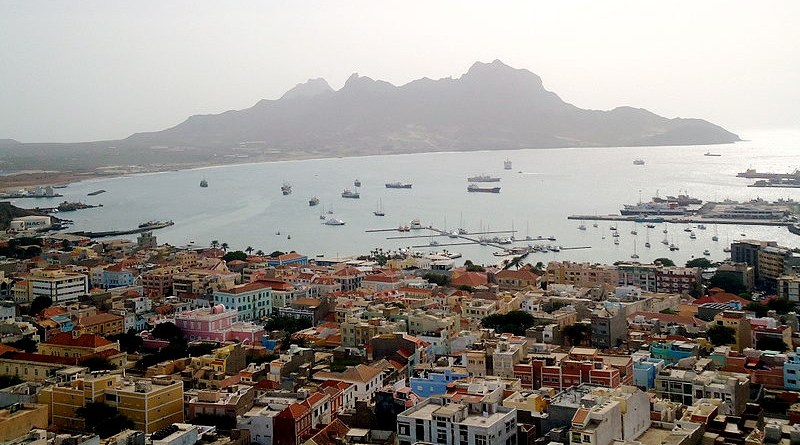 Porto Grande Bay, the major port of São Vicente Island and Cape Verde's busiest port. Photo Credit: ElsondeMadrid, Wikipedia Commons