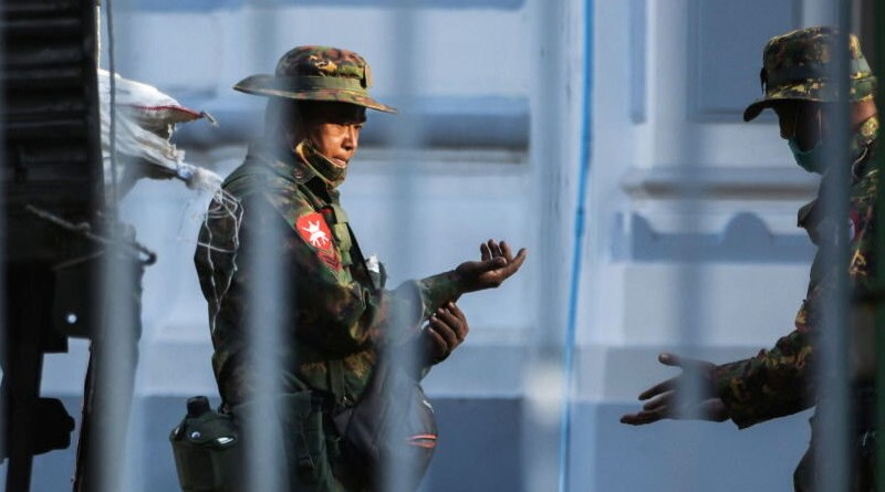 Members of Myanmar's Tatmadaw military. Photo Credit: Mehr News Agency