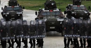 NATO-led Kosovo Force mission. Photo Credit: US Army