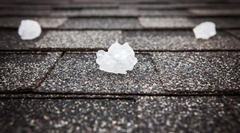 Hail is expected to be more severe when it does occur, because there will be more instability in the atmosphere which can lead to the formation of much larger hailstones. CREDIT Shutterstock