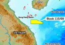 Location of Block 115 offshore Vietnam. Credit: KrisEnergy