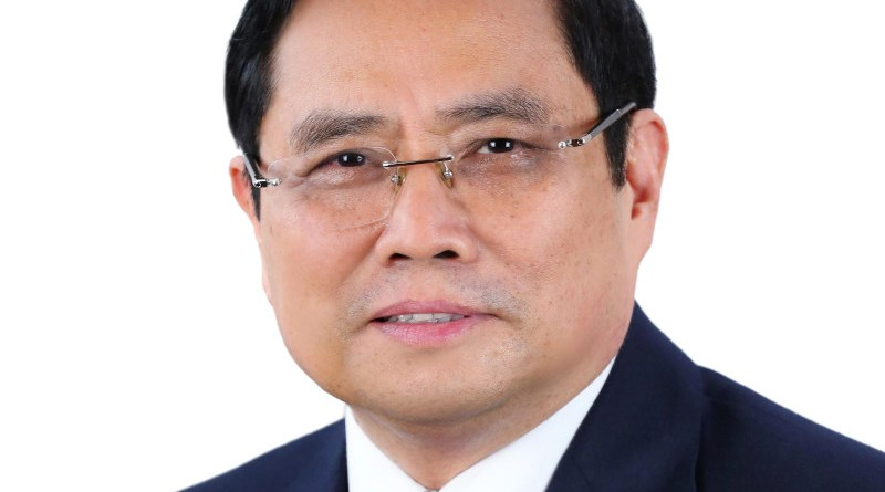 Vietnam's Prime Minister Phạm Minh Chính
