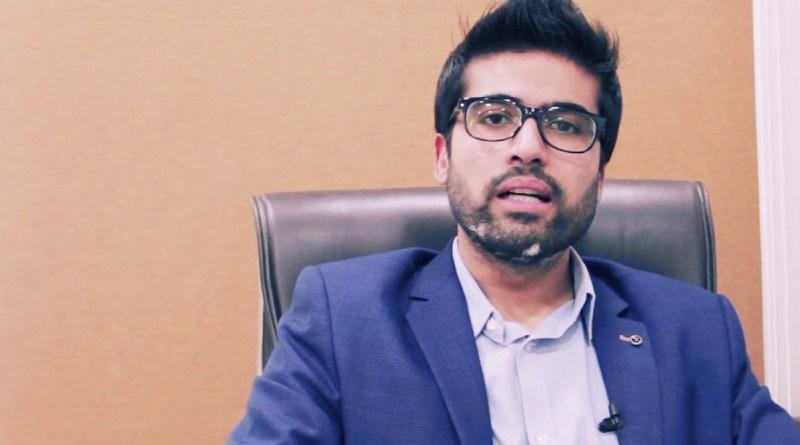 Arsalan Hashmani. Photo Credit: YouTube screenshot