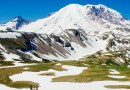 Cascade mountains snow washington range