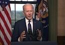 President Biden On The Way Forward In Afghanistan. Photo Credit: White House video screenshot